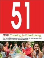 Table Number Social Catering