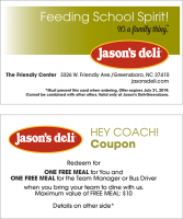 Hey Coach Business Card Coupon