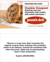 Custom Cookie Coupon