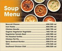 Soup Menu (for Delco Board)