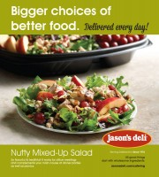 Nutty Mixed-Up Salad Counter Easel