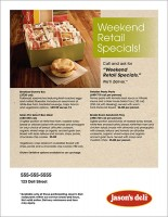 Retail Flyer Full Page