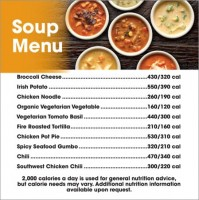 Soup Menu (for Manager Special Board)